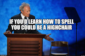 Clint Eastwood Chair Meme - clint eastwood chair talk imgflip