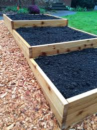 terraced garden beds cool weather gardening serendipity life is a