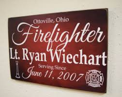 firefighter gift etsy