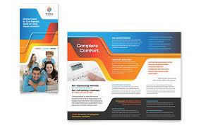 tri fold brochure template publisher kindergarten tri fold