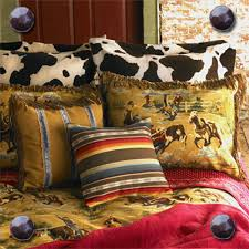 Cowboy Bed Sets Rustic Western Vintage Bedding Cactus Creek