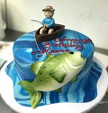 fish birthday cakes fishing birthday cake ideas best fish cakes on cake ideas