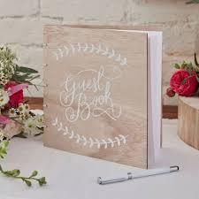 rustic wedding guest books wooden wedding guest book boho rustic wedding