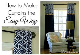how to make curtains how to make curtains the easy way