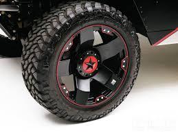 Wheel And Tire Package Deals Rock Star Red Rims Custom Rockstar Wheels Automotive