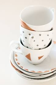 warm up 14 diy mugs for coffee or tea