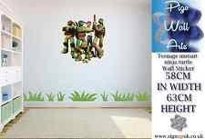 Ninja Turtle Wall Decor Turtle Wall Stickers Ebay