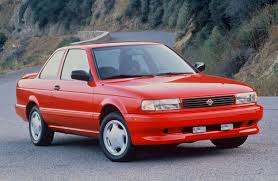 red nissan sentra unsung hero the b13 nissan sentra se r