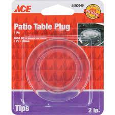 resin patio table with umbrella hole ace 2in plastic umbrella hole plug ace hardware home centre