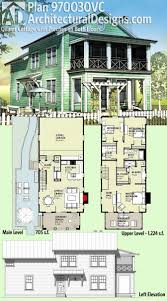 colors for a narrow lot house plans modern design single story