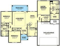 1500 Square Foot Ranch House Plans 1500 Square Foot House Plans 1500 Square Feet 2 Bedrooms 2