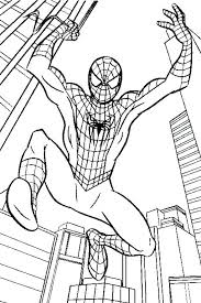 venom coloring color print spiderman coloring pages