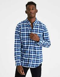navy blue shirt american eagle outfitters