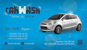 car wash business cards car wash business card template grafilker