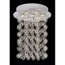 Glass Balls Chandelier Orion 16 Light Glass Globe Bubble Rectangular Pendant Chandelier