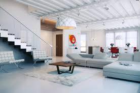 glass balustrade open plan living interior design ideas