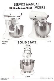 kitchenaid mixer k5ss user guide manualsonline com