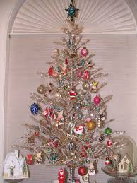 83 best tinsel trees images on vintage