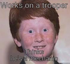 Ginger Snap Meme - over confident ginger memes quickmeme
