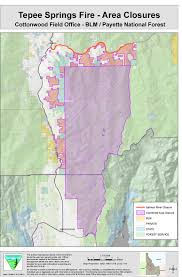 Idaho On Map Thursday Fires Have Consumed 65 000 Acres On Usfs Land So Far