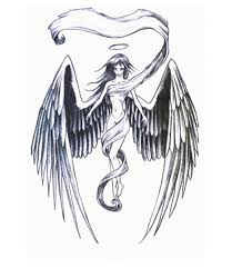 tattoo pictures of angel wings aliexpress com buy angel wings tattoo fashion angel tattoo