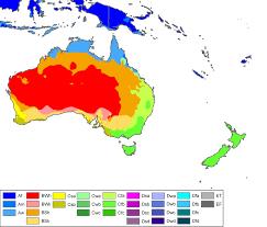 Map Australia File Australia Oceania Koppen Map Png Wikimedia Commons