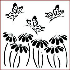 butterfly and stencil 3 99 imagination crafts stencils