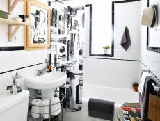 add a wood frame around a plain mirror diy