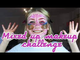 Challenge Mix Mixed Up Makeup Challenge