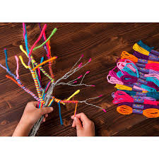 yarn tree kit kids crafts uncommongoods