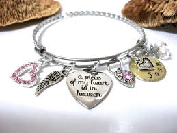 memorial bracelet memorial jewelry loss of loved one a of