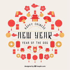 chinese design chinese new year design vector free download