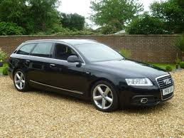 used black audi a6 avant for sale south yorkshire