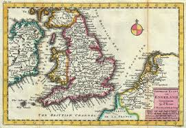 Map Of England And France by File 1747 La Feuille Map Of England Geographicus England