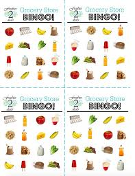 Printable Halloween Bingo Cards by Woo Hoo Free Grocery Bingo Printable Game Cards For Your Kids