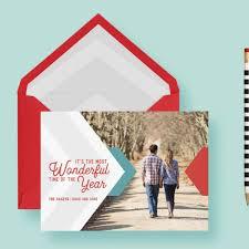 modern christmas cards chevron modern clean geometric christmas custom photo cards letter