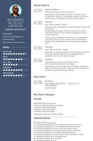 architect resume senior architect resume sles visualcv resume sles database
