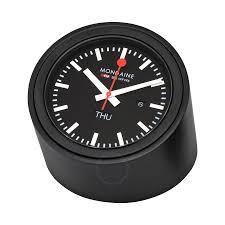 mondaine tube table clock watch a667 tube 60sbb mondaine