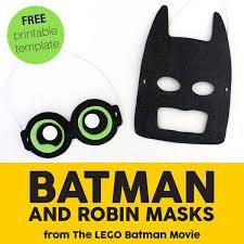 lego batman movie mask diy red ted art u0027s blog