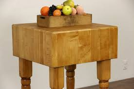 kitchen island maple butcher chopping block maple kitchen island or wine table harp
