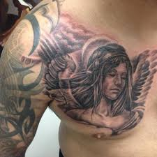Mens Chest Tattoos - best 25 chest tattoos ideas on chest