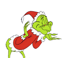 grinch christmas tree clipart clipartxtras
