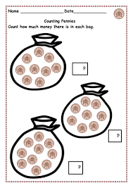money counting pennies up to 10p and then 15p 20p u0026 30p using 1p