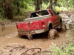 ford mudding trucks mud trucks ford f150 4x4 on tractor tires sinks
