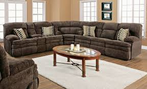Reclinable Sectional Sofas 3 Sectional Sofa With Recliner Catosfera Net