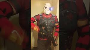 deadpool costume spirit halloween my halloween costume deadshot youtube