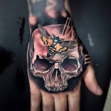 skull s hawkmoth and clock on guys by