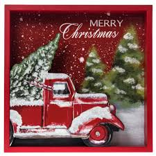 cracker barrel christmas dishes merry christmas delivery truck sign christmas traditional