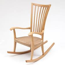 Rocking Chair Oak Rocking Chair Edward Barnsley Workshop