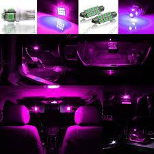 superior purple interior lights 5 x purple led interior light